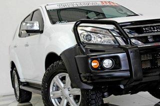 2016 Isuzu MU-X UC MY15.5 LS-U (4x4) White 5 Speed Automatic Wagon.