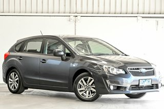 2015 Subaru Impreza G4 MY16 2.0i Lineartronic AWD Grey 6 Speed Constant Variable Hatchback.