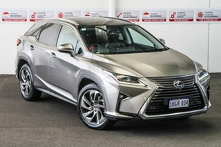 2018 Lexus RX350 GGL25R MY18 Sports Luxury Grey 8 Speed Automatic Wagon.