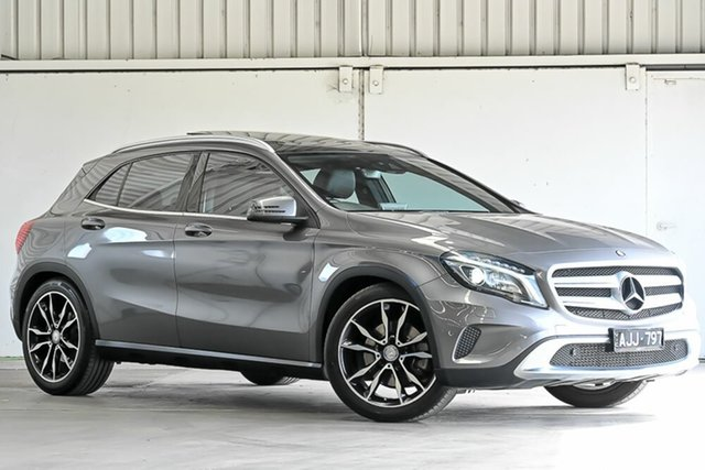 Used Mercedes-Benz GLA-Class X156 806MY GLA250 DCT 4MATIC Laverton North, 2016 Mercedes-Benz GLA-Class X156 806MY GLA250 DCT 4MATIC Grey 7 Speed Sports Automatic Dual Clutch