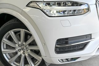 2015 Volvo XC90 L Series MY16 T6 Geartronic AWD Inscription White 8 Speed Sports Automatic Wagon.