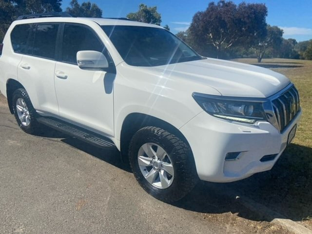Used Toyota Landcruiser Prado GDJ150R GXL Victor Harbor, 2017 Toyota Landcruiser Prado GDJ150R GXL White 6 Speed Sports Automatic Wagon