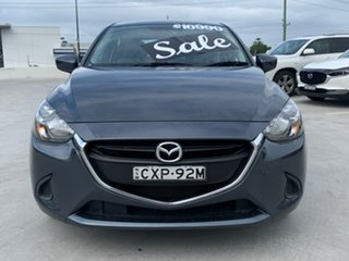 2014 Mazda 2 DJ2HA6 Maxx SKYACTIV-MT Grey 6 Speed Manual Hatchback