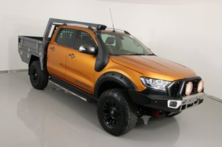 2015 Ford Ranger PX MkII Wildtrak 3.2 (4x4) Orange 6 Speed Automatic Dual Cab Pick-up