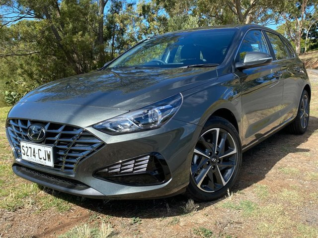Demo Hyundai i30 PD.V4 MY21 Active Nailsworth, 2020 Hyundai i30 PD.V4 MY21 Active Amazon Gray 6 Speed Sports Automatic Hatchback