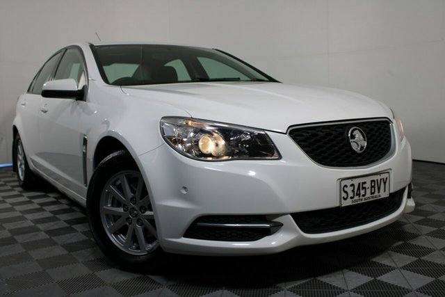 Used Holden Commodore VF II MY16 Evoke Wayville, 2016 Holden Commodore VF II MY16 Evoke White 6 Speed Sports Automatic Sedan
