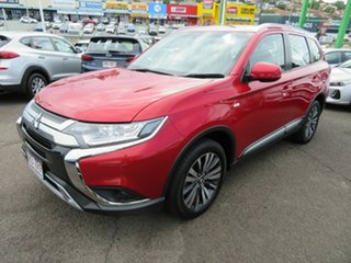 2019 Mitsubishi Outlander ZL MY19 ES AWD Red 6 Speed Constant Variable Wagon.