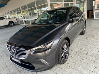 2017 Mazda CX-3 sTouring Meteor Grey Sports Automatic Wagon.