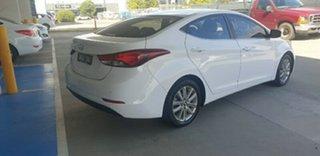 2015 Hyundai Elantra MD3 SE Creamy White 6 Speed Sports Automatic Sedan.