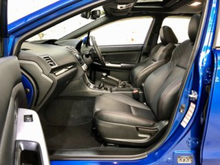 2015 Subaru WRX V1 MY16 Premium AWD Blue 6 Speed Manual Sedan