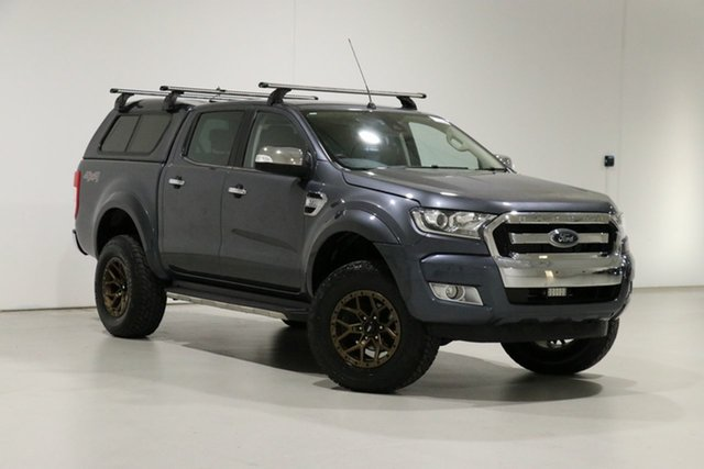 Used Ford Ranger PX MkII XLT 3.2 (4x4) Bentley, 2016 Ford Ranger PX MkII XLT 3.2 (4x4) Grey 6 Speed Automatic Double Cab Pick Up