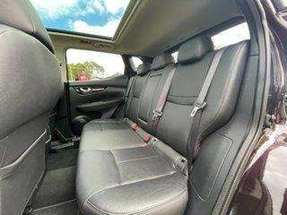 2015 Nissan Qashqai J11 TI Purple/Black 1 Speed Constant Variable Wagon