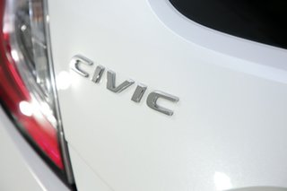 2017 Honda Civic 10th Gen MY17 RS White 1 Speed Constant Variable Hatchback