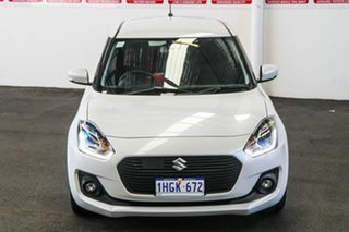 2019 Suzuki Swift AL GLX Turbo White 6 Speed Automatic Hatchback