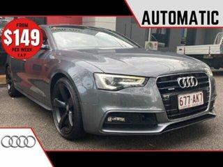 2012 Audi A5 8T MY13 Sportback S Tronic Quattro Metallic Grey 7 Speed Sports Automatic Dual Clutch.