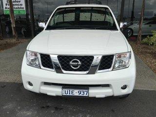 2006 Nissan Pathfinder R51 ST-L (4x4) White 5 Speed Automatic Wagon.