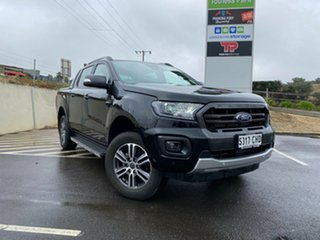 2020 Ford Ranger PX MKIII 2021.2 Wildtrak Shadow Black 10 Speed SMF Double Cab Pick Up