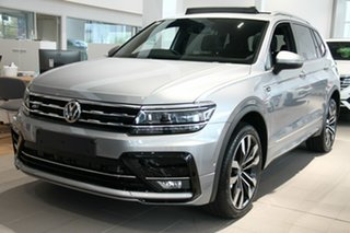 2020 Volkswagen Tiguan 5N MY21 162TSI Highline DSG 4MOTION Allspace Silver 7 Speed