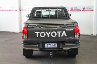2017 Toyota Hilux GUN126R SR (4x4) Graphite 6 Speed Automatic Dual Cab Utility