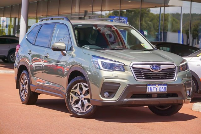 Demo Subaru Forester S5 2.5I-L Gosnells, 2021 Subaru Forester S5 2.5I-L Green Constant Variable SUV