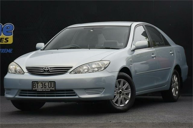 Used Toyota Camry MCV36R Ateva Campbelltown, 2005 Toyota Camry MCV36R Ateva Blue 4 Speed Automatic Sedan