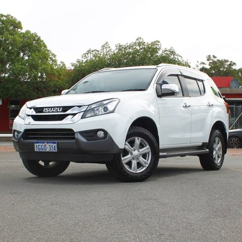 Used Isuzu MU-X MY17 LS-T Rev-Tronic Midland, 2017 Isuzu MU-X MY17 LS-T Rev-Tronic White 6 Speed Sports Automatic Wagon