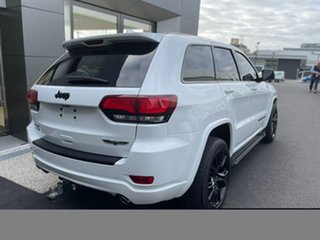 2017 Jeep Grand Cherokee WK MY17 Blackhawk White 8 Speed Sports Automatic Wagon.