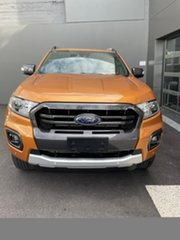 2020 Ford Ranger PX MkIII 2020.25MY Wildtrak Orange 10 Speed Sports Automatic Double Cab Pick Up.