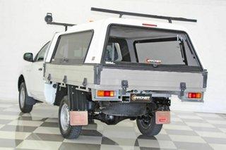 2016 Mitsubishi Triton MQ MY17 GLX White 5 Speed Automatic Cab Chassis