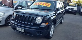 2012 Jeep Patriot MK MY12 Sport (4x2) Black 6 Speed CVT Auto Sequential Wagon