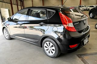 2015 Hyundai Accent RB3 MY16 Active Black 6 Speed Constant Variable Hatchback