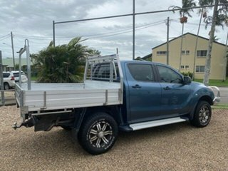 2014 Mazda BT-50 UP0YF1 XT Blue 6 Speed Manual Cab Chassis.