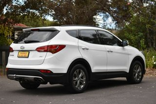 2013 Hyundai Santa Fe DM MY13 Active White 6 Speed Sports Automatic Wagon