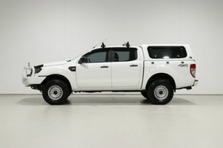 2016 Ford Ranger PX MkII XL 3.2 (4x4) White 6 Speed Automatic Crew Cab Utility