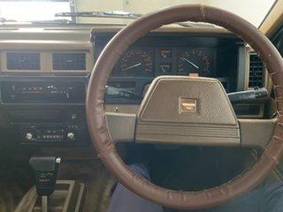 1986 Nissan Navara DX (4x2) Silver 4 Speed Automatic Dual Cab Pick-u