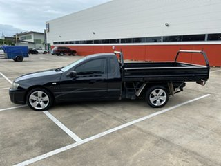 2005 Ford Falcon BF XL Black 5 Speed Manual Cab Chassis