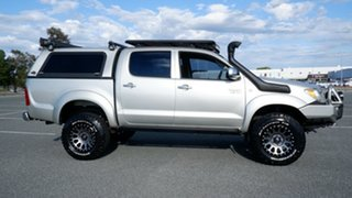 2007 Toyota Hilux GGN25R MY07 SR5 Silver 5 Speed Automatic Utility.