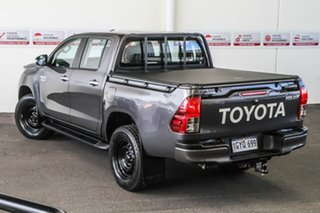 2017 Toyota Hilux GUN126R SR (4x4) Graphite 6 Speed Automatic Dual Cab Utility.