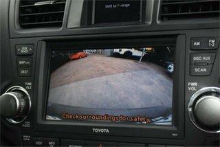 2011 Toyota Kluger GSU40R MY11 Grande 2WD Black 5 Speed Sports Automatic Wagon