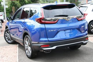 2020 Honda CR-V RW MY21 VTi 4WD LX AWD Brilliant Sporty Blue 1 Speed Constant Variable Wagon.
