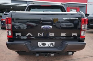 2017 Ford Ranger PX MkII MY17 Wildtrak 3.2 (4x4) Black 6 Speed Manual Dual Cab Pick-up