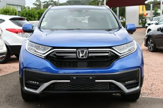 2020 Honda CR-V RW MY21 VTi 4WD LX AWD Brilliant Sporty Blue 1 Speed Constant Variable Wagon