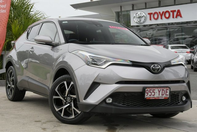 Pre-Owned Toyota C-HR NGX10R Koba S-CVT 2WD North Lakes, 2017 Toyota C-HR NGX10R Koba S-CVT 2WD Shadow Platinum 7 Speed Constant Variable Wagon