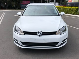 2015 Volkswagen Golf VII MY16 92TSI DSG White 7 Speed Sports Automatic Dual Clutch Hatchback.