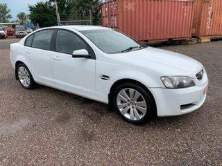 2009 Holden Commodore VE Omega White 4 Speed Auto Active Select Sedan.
