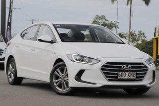 2017 Hyundai Elantra AD MY17 Active Polar White 6 Speed Sports Automatic Sedan.