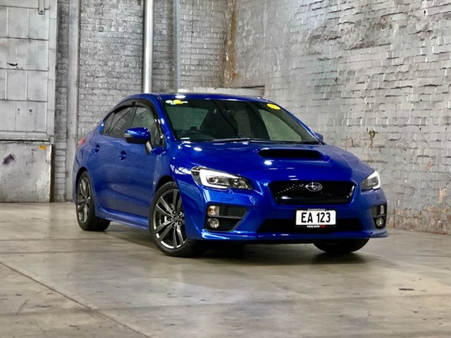 Used Subaru WRX V1 MY16 Premium AWD Mile End South, 2015 Subaru WRX V1 MY16 Premium AWD Blue 6 Speed Manual Sedan