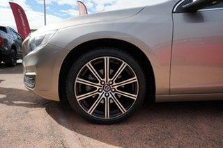 2015 Volvo S60 F MY15 T5 Luxury Gold 8 Speed Automatic Sedan.