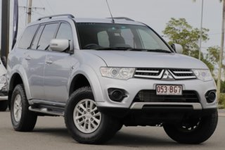 2015 Mitsubishi Challenger PC (KH) MY14 Cool Silver 5 Speed Sports Automatic Wagon.