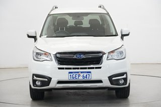 2016 Subaru Forester S4 MY17 2.5i-L CVT AWD White 6 Speed Constant Variable Wagon.